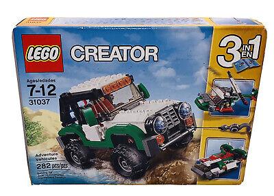 LEGO Creator # 31037 Adventure Vehicles (282 Pcs) 3 In 1 Building Set BRAND NEW