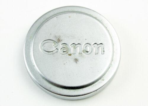U198366 Canon 42mm Chrome Push-On Lens Cap Genuine Original