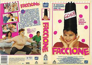 FACCIONE-1991-vhs-ex-noleggio-COMMEDIA