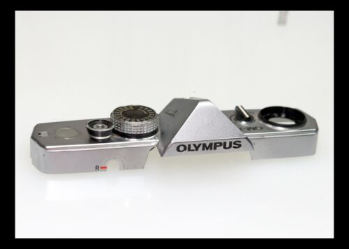 201465 OLYMPUS OM-1N TOP COVER REPAIR PART USED