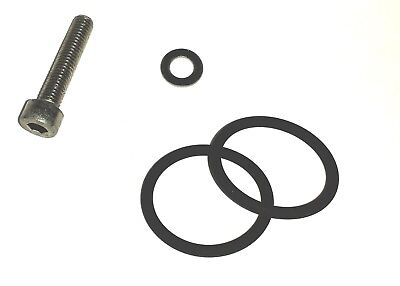 RANGE ROVER P38 HEATER/MATRIX O RINGS & NEW SCREW PLUS  INSTRUCTIONS