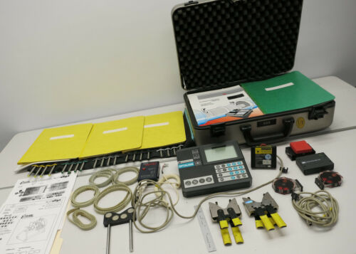 Pruftechnik Optalign Kit Ludeca Laser Shaft Alignment Tool