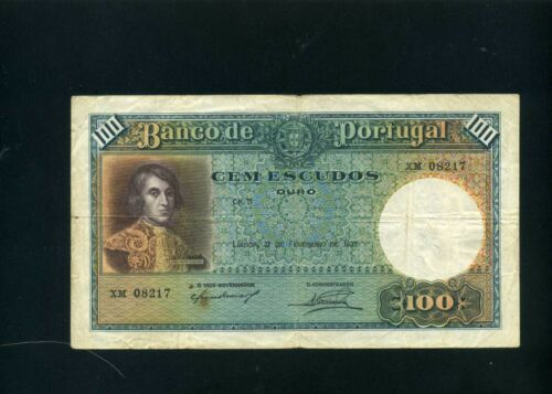 Portugal 100 escudos 1935 - F+