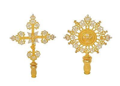 Processional Cherubim   Cross Greek Orthodox Church Set