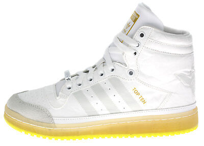 Adidas High-Top Sneaker Freizeit Schuhe TOP TEN HI YODA J Star Wars B35565 weiß