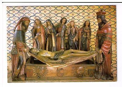 Postcard: The Entombment - Old Abbey  Saint-Pierre of Moissac, France