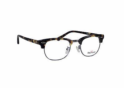 Malcolm X Horn Rimmed Glasses Frames Gold Tortoise Browline Vintage Hipster - Horned Rimmed Glasses