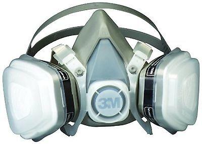 3M Paint Spray Respirator Large. Mask Solvent Particulate Vapor Gas Dust Oil P95