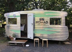 Renovated Caravan Hair Salon