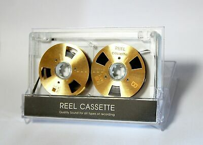 Reel to Reel cassette tape self-made high quality design Gold color