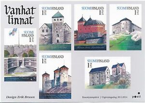 Finland 2014 MNH sheet - Finnish Castles - Issued Jan 20, 2014