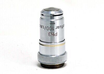Carl Zeiss Neofluar 100x Phase-contrast Na 1.30 Oil-immersion Lens