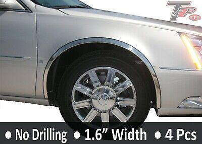 2000-2005 Cadillac DeVille Stainless Steel Fender Trim Moldings 1.6