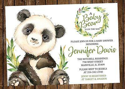 Panda Bear Baby Shower, Panda, Baby, Boy, Girl, Gender Neutral, Invitation - Panda Baby Shower