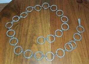 Vintage Ladies Chain Link Belt _ 60's to 70's  style Queens Park Canning Area Preview