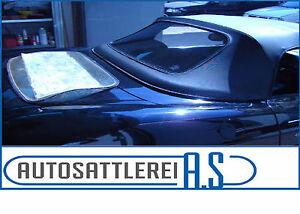 Fiat Barchetta Cabrio Heckscheibe Verdeck Cabrioheckscheibe mit neuem KEDER
