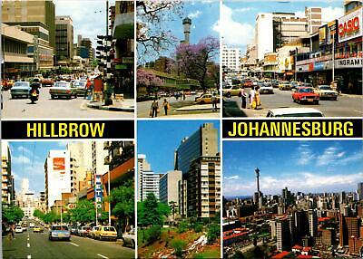Hillbrow Johannesburg Transvaal South Africa Postcard used 1984