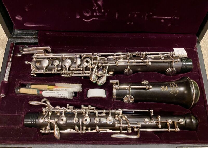 Yamaha Model YOB-841 Custom. Professional Oboe. Serviced In Excellent Condition