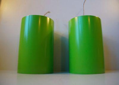 Danish mid-century 1970s Minimalist Pendant Lamps by Louis Poulsen Panton PH era