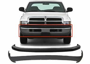 Replacement Upper & Lower Front Bumper Cover 1994-2001 Dodge Ram New Free Ship