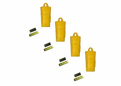 4 - Esco Style 18 Series Mini Excavator Backhoe Bucket Dirt Tooth W Pin Kit