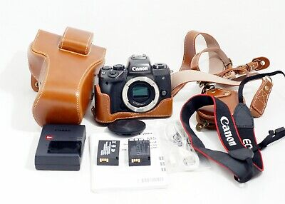 Canon EOS M5 24.0MP Mirrorless Digital Camera Body Only and Items Shown