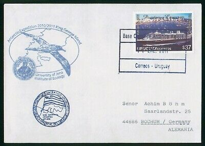 Mayfairstamps Uruguay 2011 Antarctic Expedition Institute of Ecology Cover wwo97