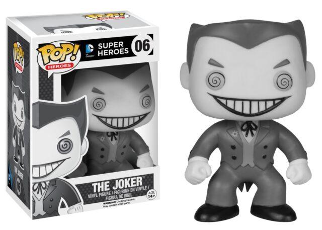 The Joker Black & White Batman DC Pop! Vinyl Figure #06
