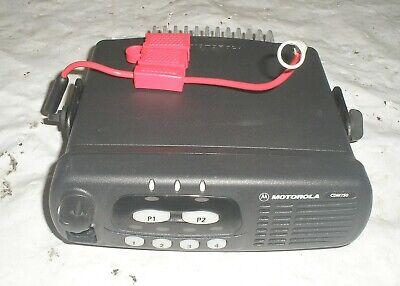 Motorola Cdm750 Mobile Two Way Radio W Bracket