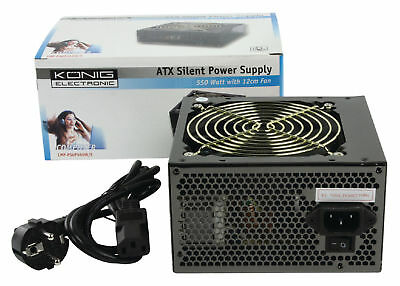 KONIG CMP-PSUP550W/S ATX Silent Power  FREE France Delivery Mondial Relay Point