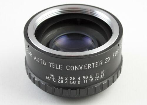 U200041 Telesar Auto Tele Converter for Pentax/M42 Screw-Mount Cameras w/Case