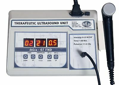 New 1 Mhz Ultrasound Physiotherapy Portable Electrotherapy Machine Delta-07 Fnd