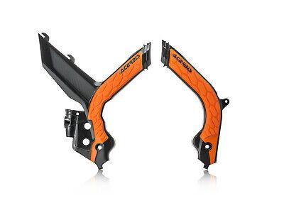 Acerbis Frame Guards KTM EXC EXC-F XC-W TPI 150 250 300 350 450 2020 OR Inner