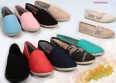 ad630d06956 Fashion Causal Slip On Round Toe Flat Women s Comfort Shoes All Size 5.5-  11 NEW