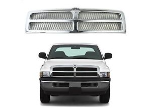 Replacement Chrome Grill For 1994-2001 Dodge Ram CH1200178 New Free Shipping USA