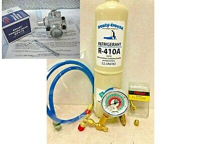 R410, R-410a, Refrigerant, Air Conditioner, LARGE 38 oz., Can Tap, KIT A16 for sale  Shipping to Canada