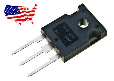 Irfp260n - 2 Pcs N-channel 50a 200v To-247 Power Mosfet88 - From Us