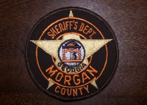 Morgan County Georgia Sheriff's Dept. Sew On Embroidered Patch