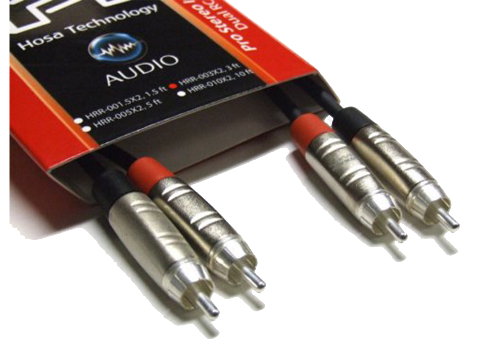 1.5 ft Hosa Pro HPR-001.5 Unbalanced Interconnect REAN 1//4 in TS to RCA