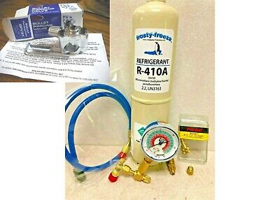 R410, R-410a, Refrigerant, Air Conditioner, LARGE 38 oz , Can Tap, KIT A14