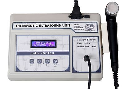 Therapeutic Ultrasound Therapy 1 Mhz Stress Relief Physiotherapy 07-lcd Machine