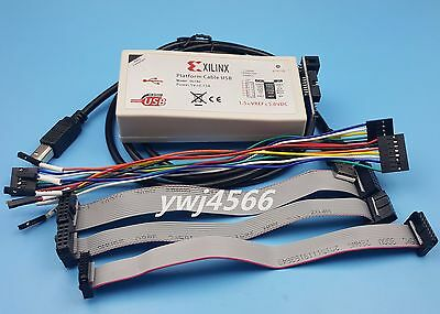 Xilinx Platform Cable Usb Download Cable Fpga Cpld Programming Tool Works Fi