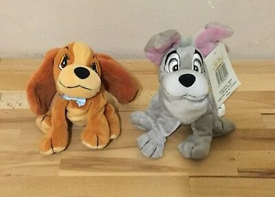 Lady and the Tramp 2 soft toys plush Scamps Adventures Disney Promo toys 💖