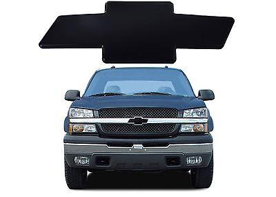 All Sales 96183K 2003 2007 Classic Silverado 1500 2500 3500 Black Billet Bowtie