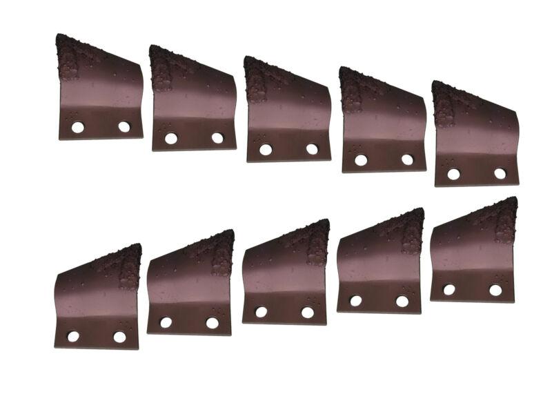 "5LH, 5RH Carbide Trencher Cup Teeth, Bolt Holes 2"" On Center- B135924, B135925"