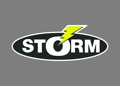 STORM bait decals stickers bass boat tournament sponsor fishing baits lures