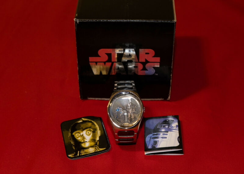 Star Wars Fossil limited edition Droids watch