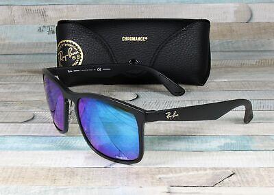 RAY BAN RB4264 601SA1 Matte Black Blue Flash Polarized 58 mm Men's (Ray Ban Matte Sunglasses)
