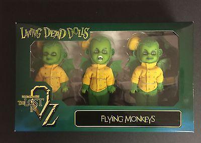 Flying Monkeys 3 Pack Mezco Living Dead Dolls Lost in Oz