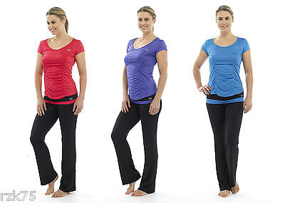 Ladies Yoga Tops, Pants -  Seamless Active Sports Wear Gym Fitness Clothing